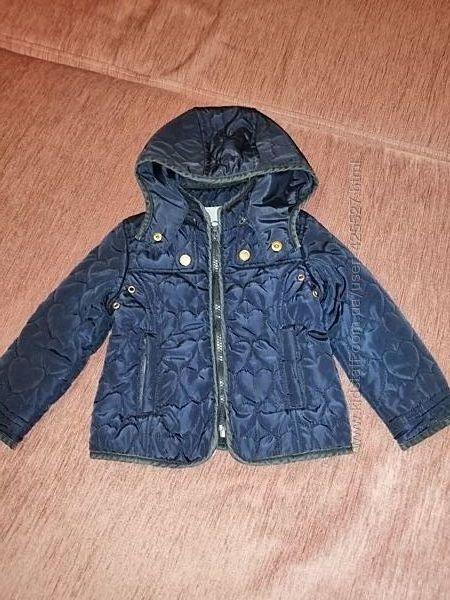 Демисезонная стёганая куртка Zara