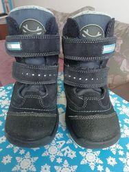 Ботинки зимние на мембране Tigina