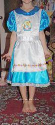 Карнавальное платье Алисы Дисней на 8 лет