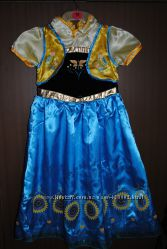 Карнавальное платье Анны Frozen Весеннее на 140 см