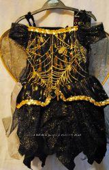 Платье Паучка на 3-4 года звук, свет