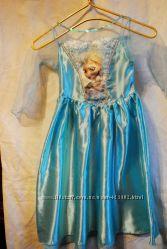 Платье Эльзы  Frozen на 5-6 лет , на 110 - 116 см