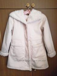 Деми пальто Uniqlo 9 - 10 лет