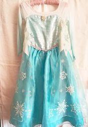 Платье Эльзы Frozen, DisneyStore на 9-10 лет , на 135 - 145 см
