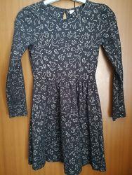 Платье с принтом Кошечки TU на 9 лет 134 см