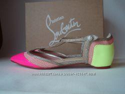 Christian Louboutin оригинал балетки босоножки сандали лодочки туфли 36 37