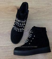Шикарные ботиночки осень-зима копия Philipp Plein