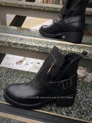 Стильные ботинки Diezzzl.  Стильно и комфортно. Кожа, внутри набивная шерст