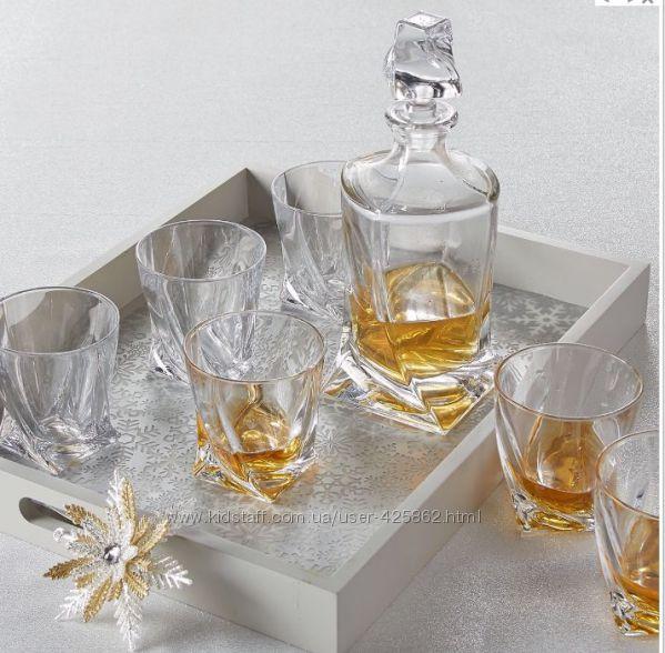 Quadro набор для виски 7 пр Bohemia 9999999A44480