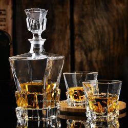 Набор стаканов Bohemia Crack 29J3893K79310 310 мл, 6 шт
