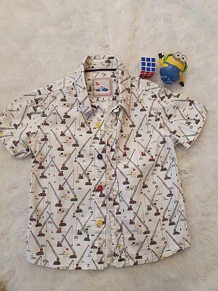 Рубашка-шведка TU возраст 2-3года.