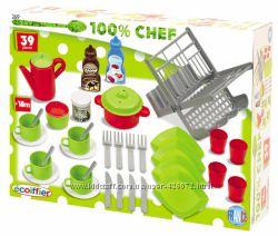 Набор Ecoiffier Chef-Cook 39 аксессуаров для кухни 002619