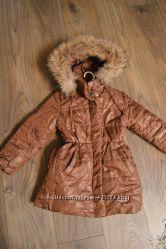 Отличное теплое пальто для девочки