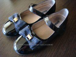 Туфли для девочки кожа