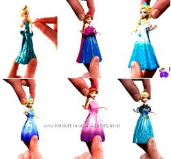 Disney Magiclip Mattel мини куклы принцессы
