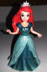 Disney, Magiclip, Mattel, мини, куклы, принцесса, Ариэль