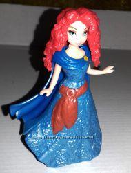 Disney, Magiclip, Mattel, мини, куклы, принцесса, Мерида