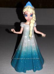 Disney, Magiclip, Mattel, мини, куклы, принцесса, Эльза, frozen, холодное с