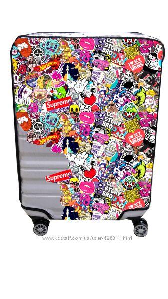 Силиконовый защитный чехол на чемодан - все размеры