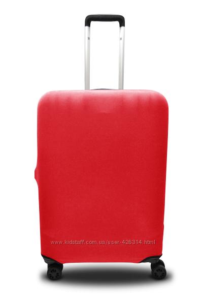 Чехол для чемодана дайвинг Coverbag красный р. S