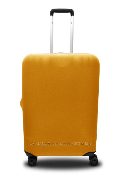 Чехол для чемодана дайвинг Coverbag желтый р. М