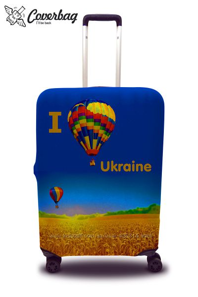 Чехол на чемодан с принтом