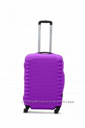 Чехол на чемодан Coverbag дайвинг сирень