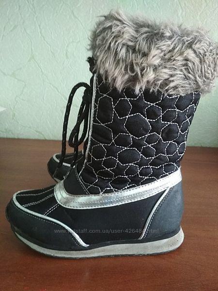 Суперские брендовые зимние сапожки M&S размер 30.5