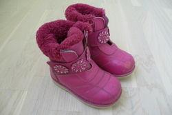 Ботинки зимние на девочку Шалунишка 25 размер 16 см