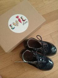 Ботинки деми EVIE. shoes кожа замш 29 размер