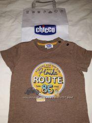 Футболка Chicco для мальчика из нежнейшего хлопка, размер 86