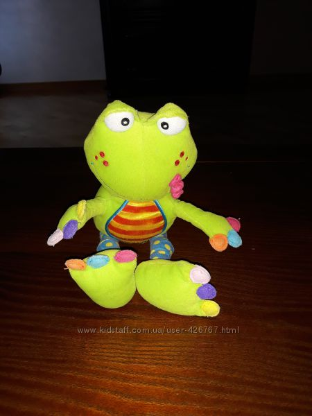 Вибрирующая жабка на пристежке Tolo
