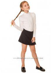 Практичная школьная блуза р. 134-152см