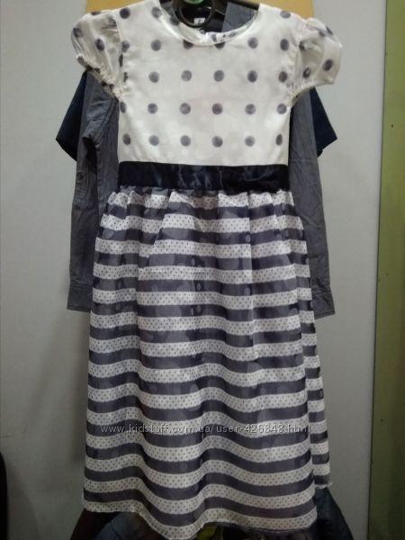 Нарядные платья Topolino для девочек 116 и 122см