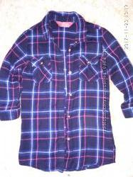 Рубашка платье Young Dimension, размер 2-3 года