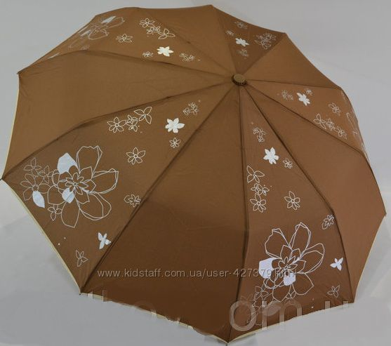 Женский зонт полуавтомат антиветер карбоновые спицы