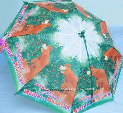 Детские зонты Маша и медведь распродажа