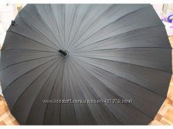 Мужской зонт - трость, 24 спицы