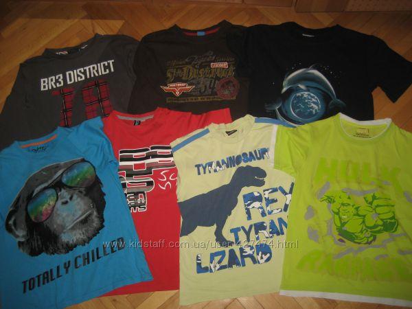 Фирменные футболки на 9-14лет