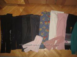 Разные лосины, штаны на 6-9лет