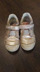 Кожаные кроссовки D. d step