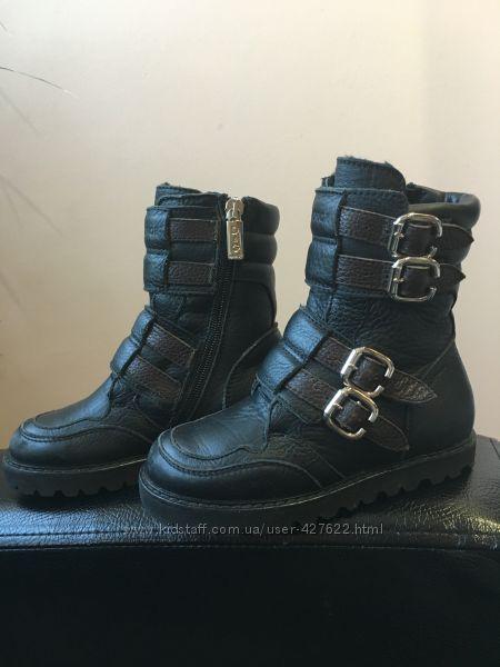 Зимние тёплые ботинки D&G Junior оригинал 18см