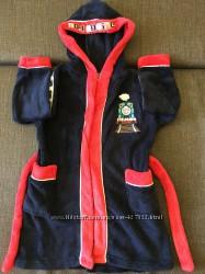 Теплый халат на 2 3 года паровозик Томас