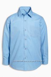 Next школьная рубашка с длинными рукавами. ниже цены сайта