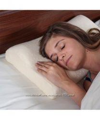 2 новые подушки контурные Comfort Memory Foam