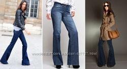 Супер ц е н а новые джинсы DKNY Soho Boot Cut, Zara, Christopher Blue
