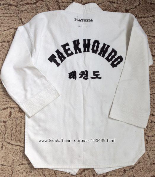 Кимоно плотное плетение Playwell 130