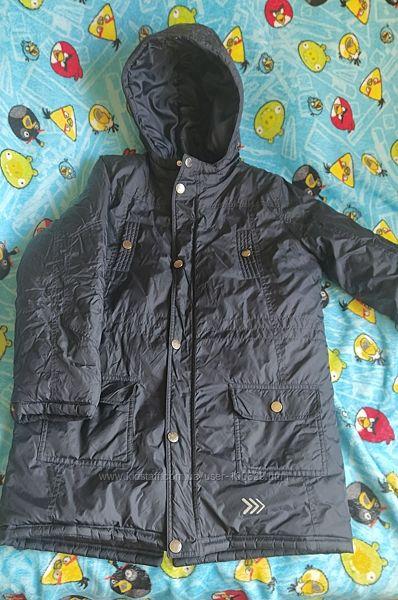 Куртка демисезонная удлинённая 152р