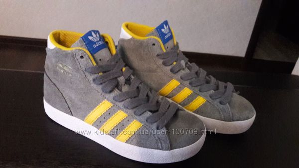 Кеды замшевые Adidas 34 размера