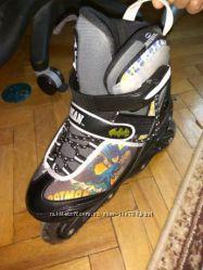 Роликовые коньки Powerslide Batman, размер 33-37
